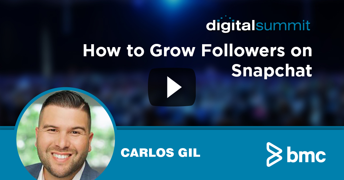How to Grow Followers on Snapchat – Carlos Gil