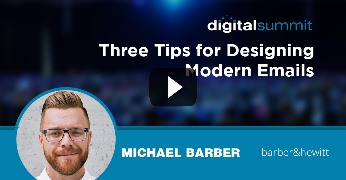 Three Tips for Designing Modern Emails – Michael Barber