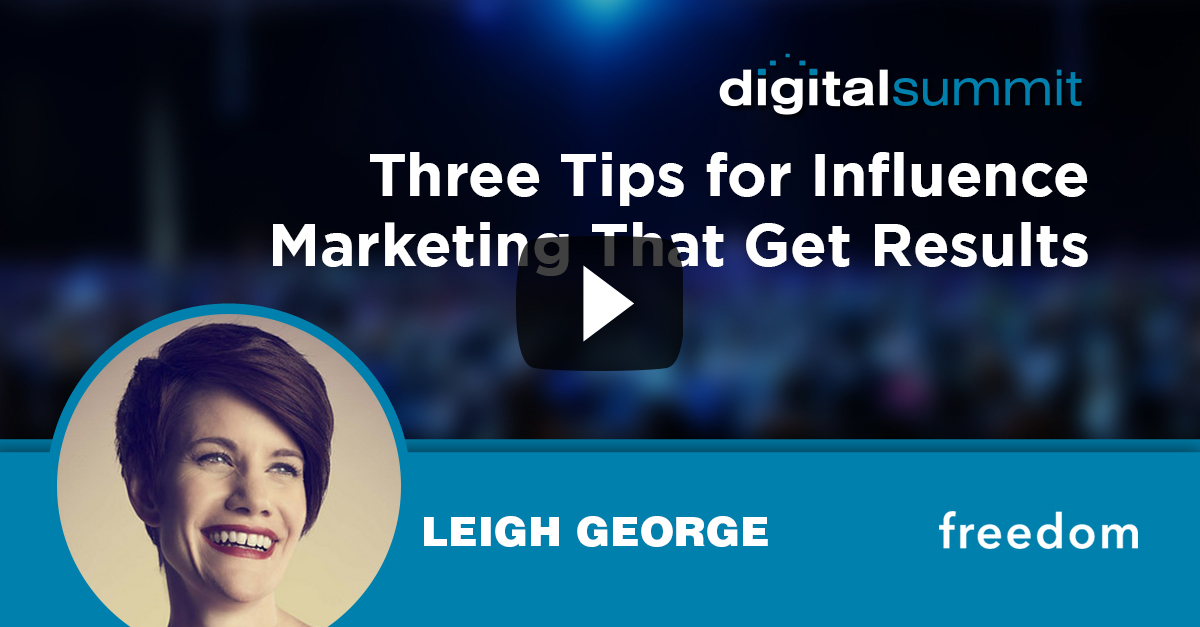 Three Tips for Influence Marketing That Get Results – Leigh George