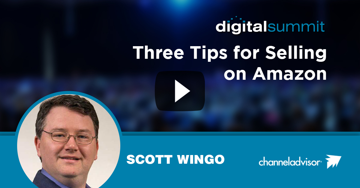Three Tips for Selling on Amazon - Scott Wingo