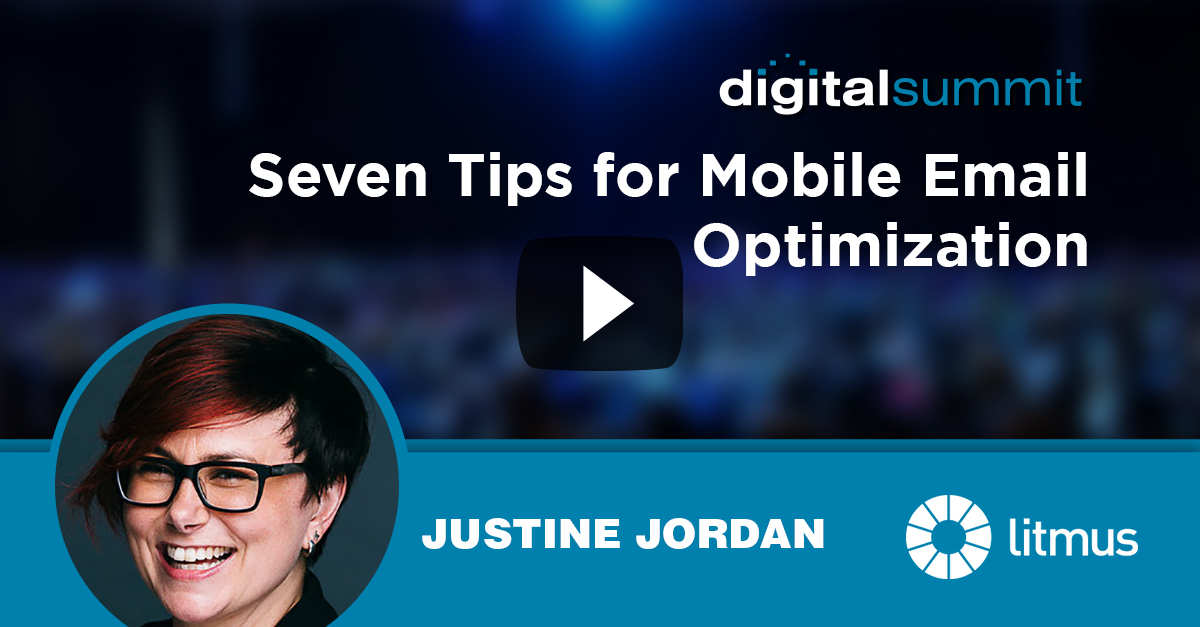 Seven Tips for Mobile Email Optimization - Justine Jordan