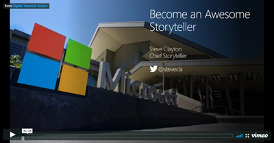 Become an Awesome Storyteller