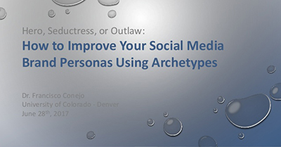 Improving Social Media Brand Personas Through Archetypes