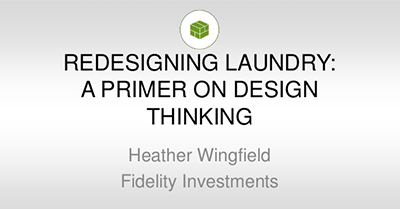 Redesigning Laundry: A Primer on Design Thinking