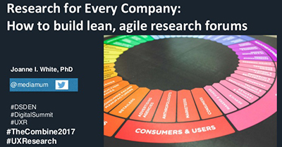 Research for Every Company: How to Build Lean, Agile User Research Participant Forums