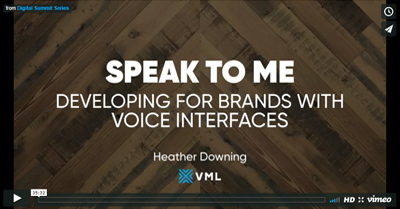 Speak To Me: Developing for Brands with Voice Interfaces