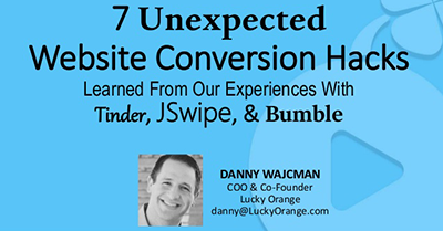 7 Unexpected Website Conversion Hacks
