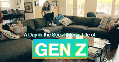 A Day in the Social Media Life of Gen Z