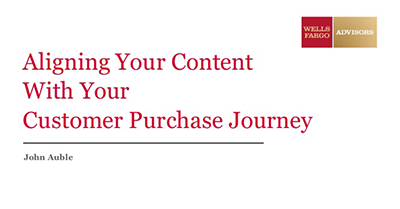 Aligning Your Content With Your Customer Purchase Journey
