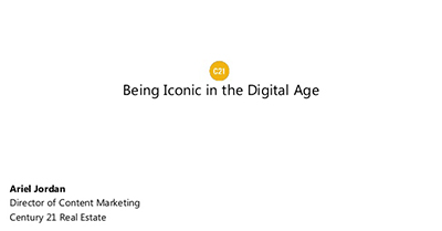 Being Iconic in the Digital Age