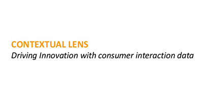 Contextual Lens: Driving Innovation with Consumer Interaction Data