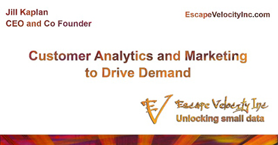 Customer Analytics and Marketing to Drive Demand