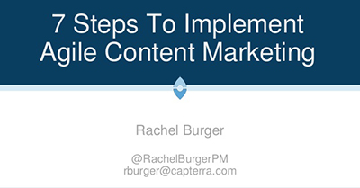 7 Steps To Implement Easy Agile Content Marketing