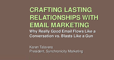 Crafting Lasting Relationships with Email: Successful Email Marketing Looks More Like a Conversation