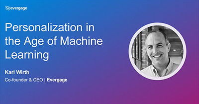 Personalization in the Age of Machine Learning