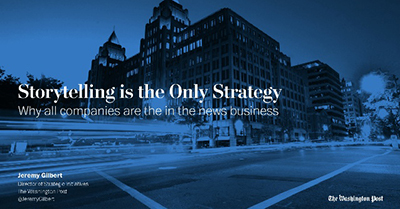 Storytelling is the Only Strategy