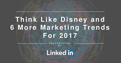The Future of B2B Marketing: Think Like Disney and 6 Other Trends