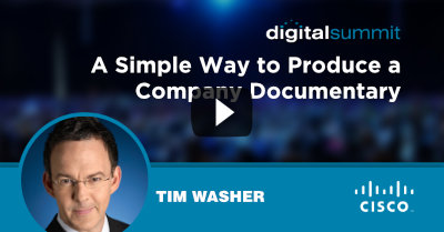 A Simple Way to Produce a Company Documentary - Tim Washer