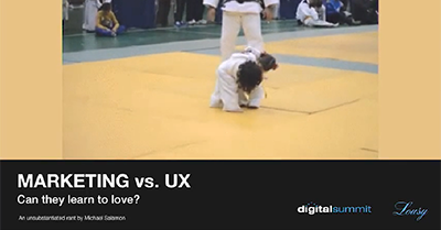Marketing vs UX: Can They Learn to Love?