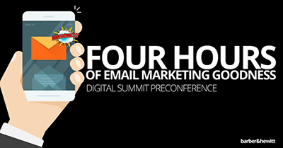 Four Hours of Email Marketing Goodness