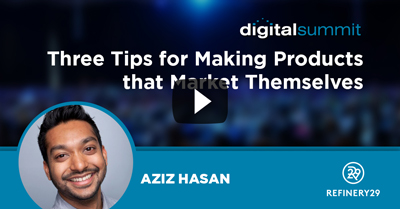 Three Tips for Making Products that Market Themselves
