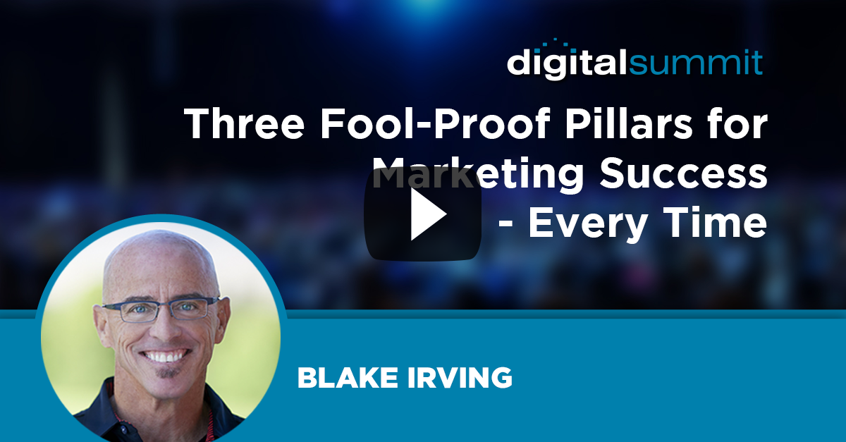 Three Fool-Proof Pillars for Marketing Success – Every Time
