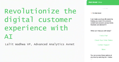 Revolutionize the Digital Customer Experience with AI