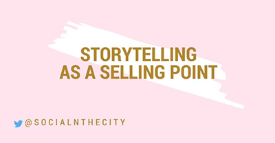 Storytelling as a Selling Point