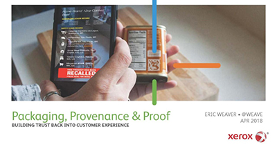 Products, Packaging and Proof: Building Trust into Customer Experience