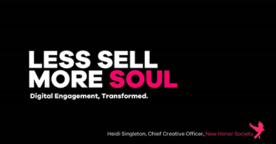 Less Sell, More Soul: Digital Engagement, Transformed