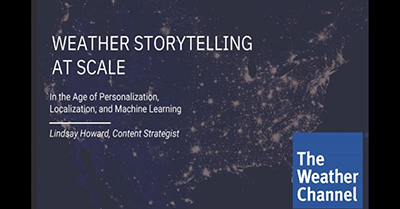 Lessons Learned in Content Personalization During the Worst Hurricane Month in History
