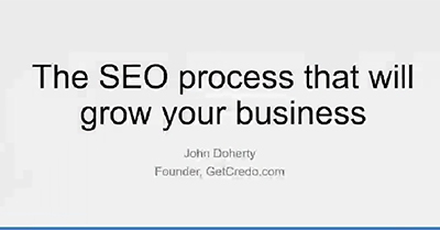The SEO Process That Will Grow Your Business