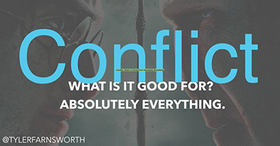 Conflict, What is it Good For? Absolutely Everything
