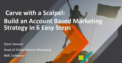 Carve with a Scalpel: Building an Account Based Marketing Strategy in 6 Easy Steps