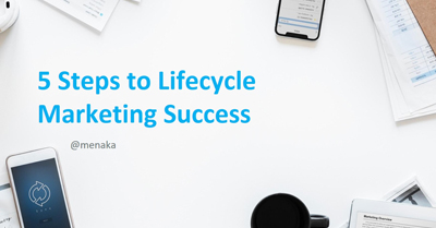 Five Steps to Lifecycle Marketing Success