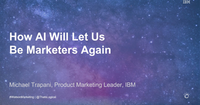 How AI Will Let Us Be Marketers Again
