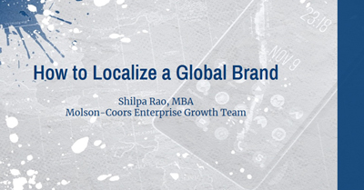How to Localize a Global Brand