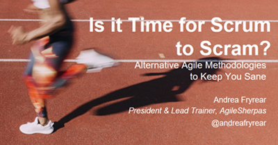 Is it Time for Scrum to Scram? Alternative Agile Frameworks to Keep Marketers Sane