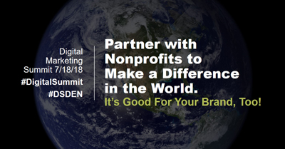 Partner with Non-Profits to Make a Difference in the World. It's Good For Your Brand Too