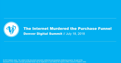 The Internet Ended the Traditional Purchase Funnel