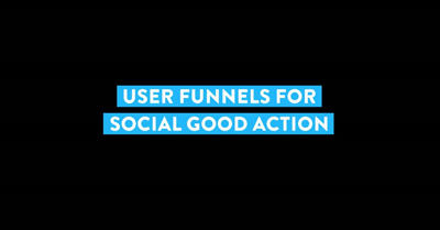 User Journey to Social Good Action