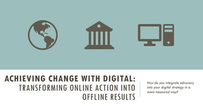 Achieving Change with Digital: Transforming Online Action into Offline Results