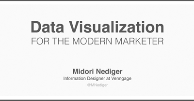 Data Visualization for the Modern Marketer