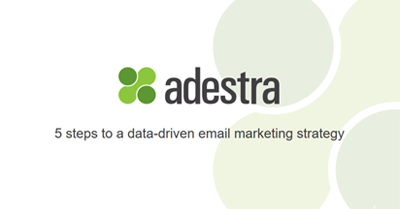 Five Steps to a Data Driven Email Marketing Strategy
