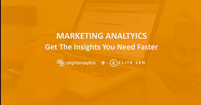Marketing Analytics: Get the Insights You Need Faster
