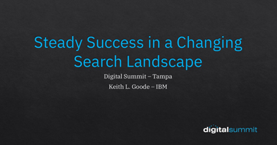 Steady Success in a Changing Search Landscape