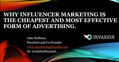 Why Influencer Marketing is the Cheapest and Most Effective Form of Advertising