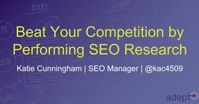 Beat Your Competition by Performing SEO Research