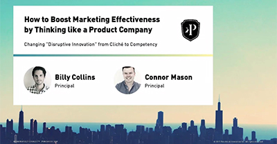 How to Boost Marketing Effectiveness by Thinking Like a Product Company