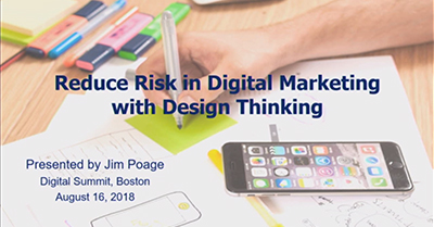 Reduce Risk in Digital Marketing with Design Thinking